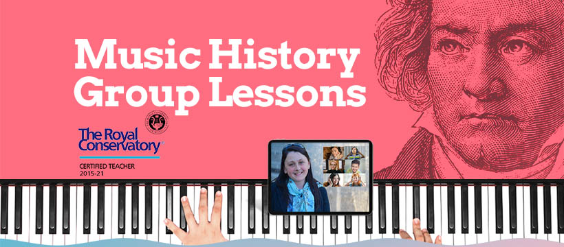 RCM music history classes Kitsilano Vancouver BC hero image
