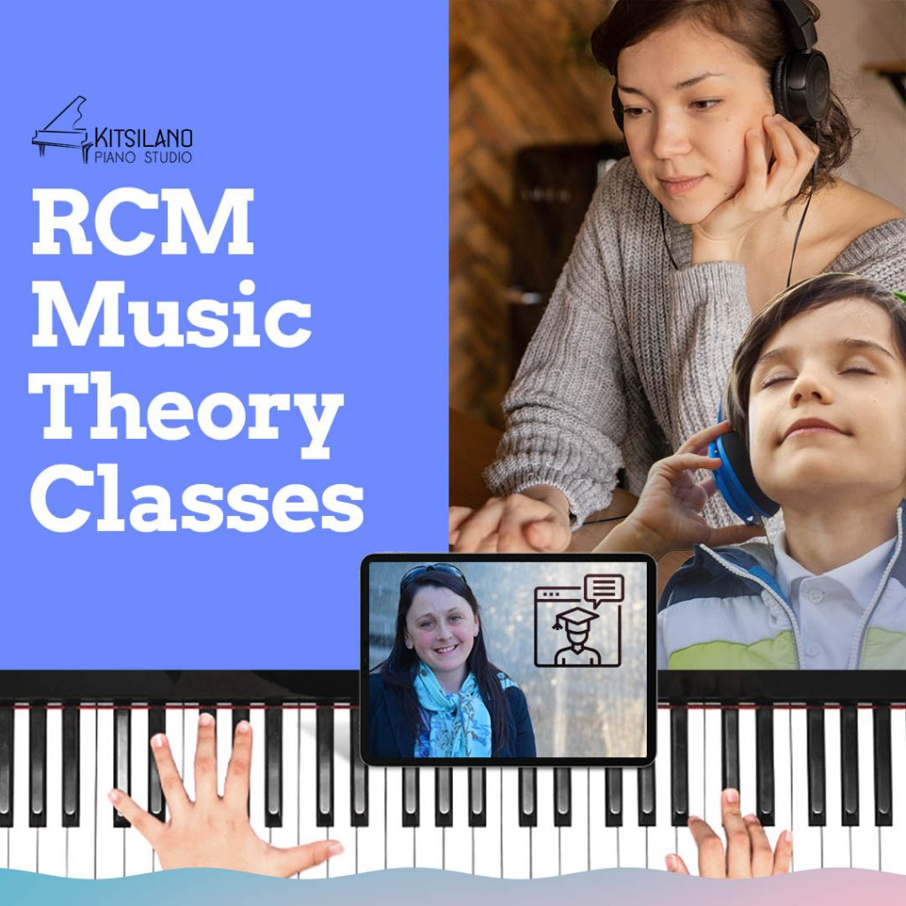 RCM music theory classes Kitsilano Vancouver BC